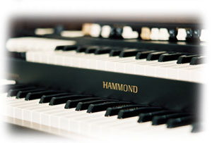 Hammond Drawbars and Keys